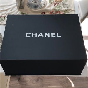Authentic large Chanel box